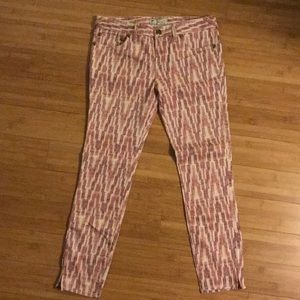 Free People ankle length pants